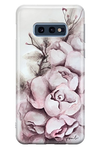 Lopard Samsung Galaxy S10E Kılıf Gulpembe Kapak Renkli